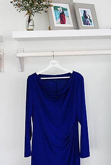 Šaty - Elegantné riasené šaty - 8670464_