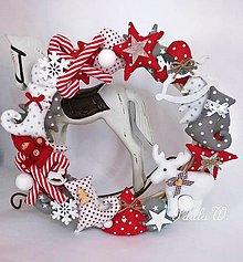 Dekorácie - Vianočný veniec II. - 8671914_