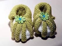 Topánočky - Dojčenské papučky - 8669966_