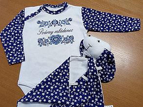 Detské oblečenie - Švárny šuhaj - body folk - 8669671_
