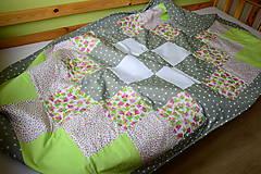Úžitkový textil - Prehoz na posteľ - 8669910_