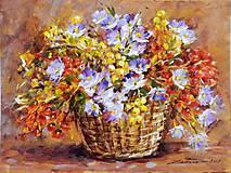 Obrazy - Jesenný darček - 8669818_