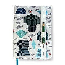 Papiernictvo - Zápisník A6 Tajuplný smaragdový ostrov - 8671406_