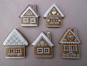 Dekorácie - medovníkové domčeky - 8675567_