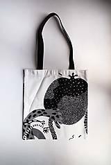 Nákupná taška   Čierno-biela   Malá   Vzory I
