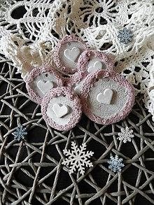 Dekorácie - Vianočné makrónky:-) - 8675572_