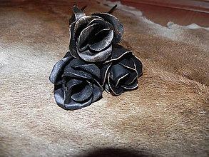 Dekorácie - Kovaná večná ruža:-) - 8675699_