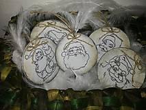 Dekorácie - Drevené vianočné ozdoby - 8677160_
