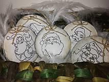 Dekorácie - Drevené vianočné ozdoby - 8677164_