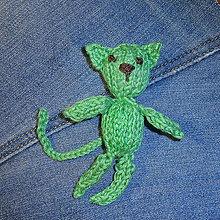 Kľúčenky - Zelená- darček k objednávke - 8677779_