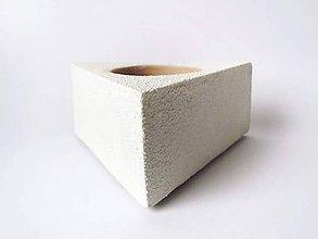 Nádoby - betónový kvetináč What about White - 8676734_