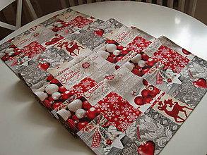 Úžitkový textil - Vianočná štóla - 8675111_