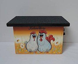 Nezaradené - Poštovní schránka-slepička a kohoutek - 8675750_
