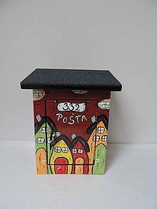 Nezaradené - Poštovní schránka-domečky - 8677458_