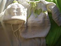 detská súpravička-zelené srdiečko
