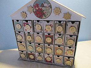 Krabičky - Adventný kalendár - 8674860_