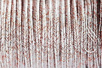 Galantéria - sutaška metalická Navajo-Cu/1m - 8676573_