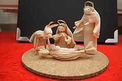 Dekorácie - Betlehem - Svätá rodina -  prvý typ - 8674752_