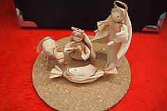 Dekorácie - Betlehem - Svätá rodina -  prvý typ - 8674753_