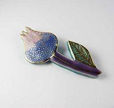 Odznaky/Brošne - Tana šperky - keramika/zlato - 8673314_
