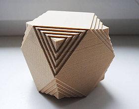 Krabičky - šperkovnica Kocka - 8673265_