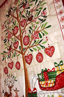 Dekorácie - Adventný kalendár