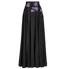 Sukne - Kruhová šifónová sukňa s výšivkami rôzne farby - 8677323  95e31aa3dc8