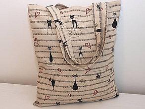 Nákupné tašky - ...cicky hudobníčky... - 8673979_