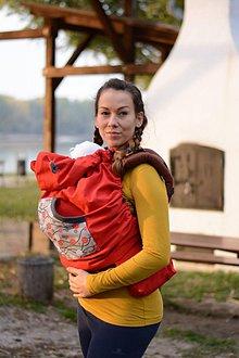 Detské doplnky - OCHRANNÁ TERMOKAPSA - RED SAKURA - 8672783_