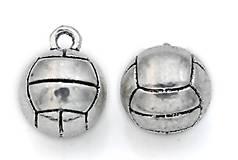 - Prívesok volejbalová lopta 3D - 8677317_