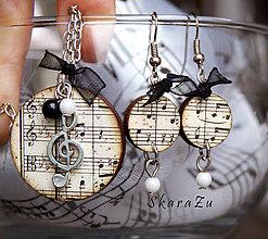 Sady šperkov - Stará hudba mini / sada - 8677577_