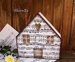 Dekorácie - Dom muzikanta 2 - 8677672_
