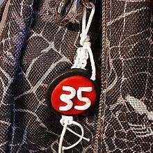 Kľúčenky - Shamballa kľúčenka s číslom - 8676551_