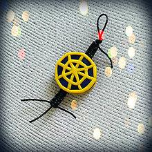 Kľúčenky - Shamballa kľúčenka - pavučina - 8677463_