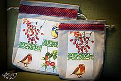Úžitkový textil - Vrecká na bylinky No.17 - 8681037_