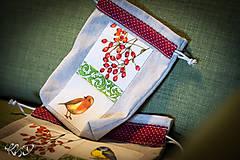 Úžitkový textil - Vrecká na bylinky No.17 - 8681041_