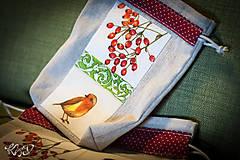 Úžitkový textil - Vrecká na bylinky No.17 - 8681042_