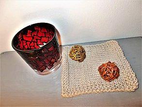 Svietidlá a sviečky - Podložka pod svietnik - 8678817_