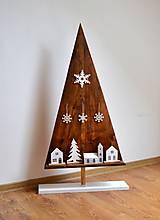 - Vianočný stromček-drevený-výška 103 cm - 8680002_