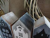 Dekorácie - Vintage domčeky - 8682035_