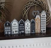 Dekorácie - Vintage domčeky - 8682044_