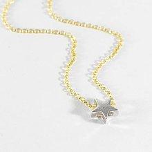 Náhrdelníky - STAR náhrdelník - striebro AG925 - 8681530_