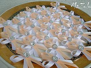 Pierka - svadobné pierka 2 v 1/a iné odtiene/ - 8678447_