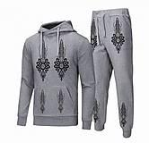 Nohavice - Tepláky v slovenskom ľudovom štýle - tepláky - 8678852_