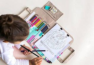 Detské tašky - Velký pastelkovník