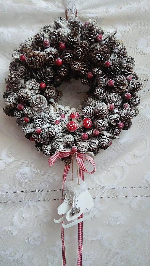 Veniec vianočný ...korčule   kiflike - SAShE.sk - Handmade Dekorácie c58eccf0bd2