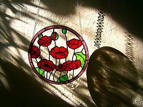 Dekorácie - Lapač slnka - maky - 8680473_