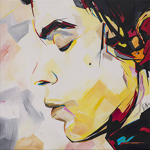 Obraz Prince, 50 x 50 cm, akryl na plátne