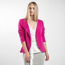 Kabáty - Růžové sako - 8677929_