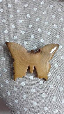 Odznaky/Brošne - Brošňa - na krídlach motýlích - 8678919_